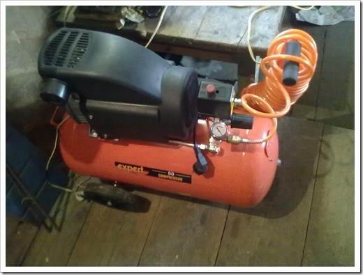 Как выбрать компрессор для краскопульта?