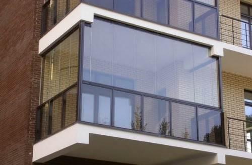 остекленение балкона