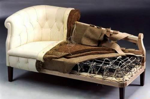 Перетяжка дивана своими руками пошагово фото