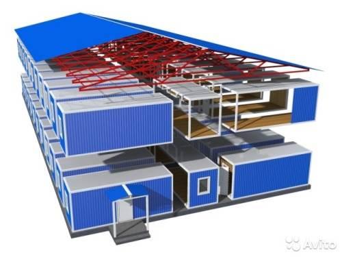 Как собирают модульные здания