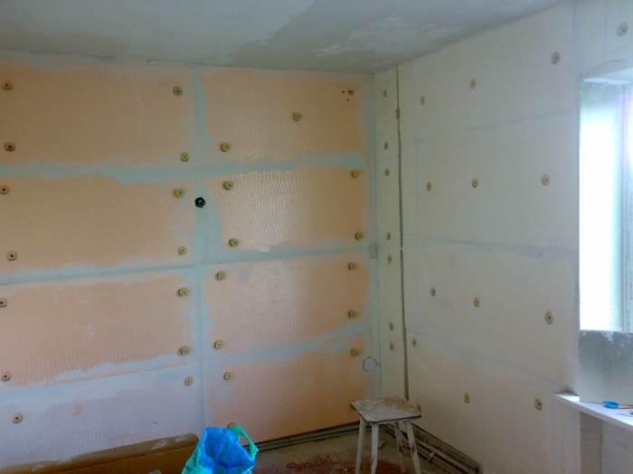 Как утеплить стены в квартире изнутри своими руками