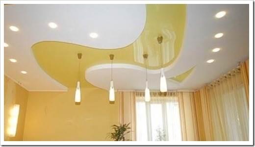 Натяжные потолки и их основные преимущества