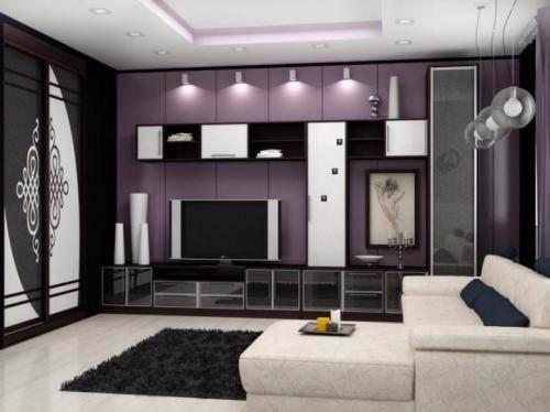 Гостиная и мебель для нее
