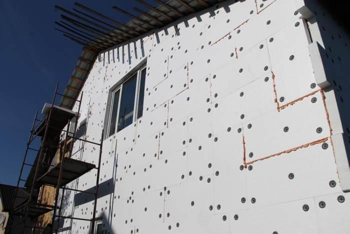 Утепляем стены
