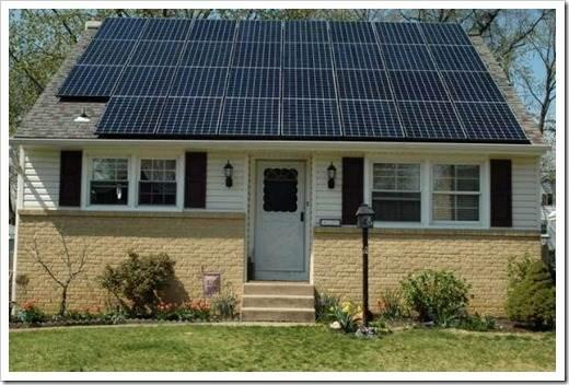 Организация сбора энергии при помощи солнечных элементов