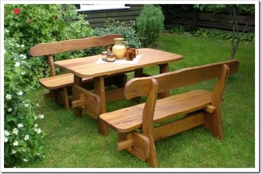 Садовая мебель для загородных участков
