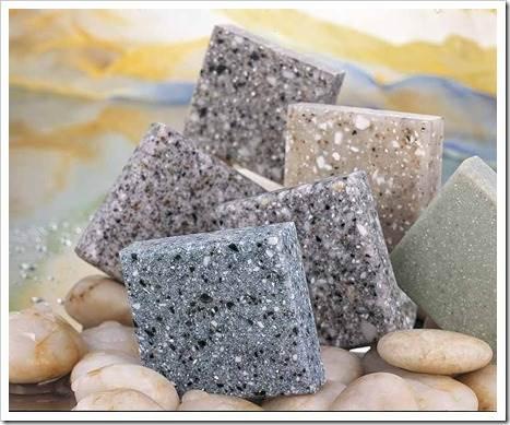 Существующие виды столешниц из искусственного камня