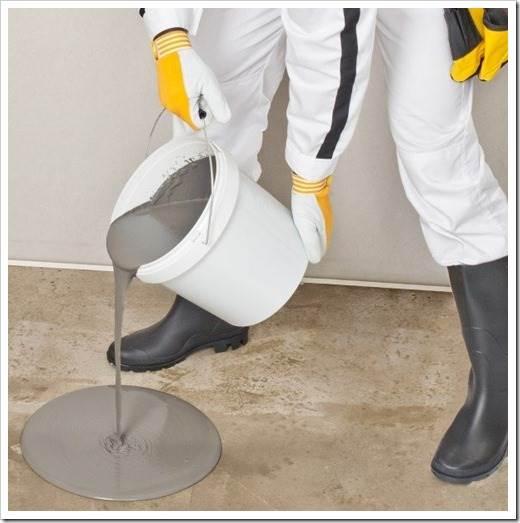 Как выровнять бетонный пол?