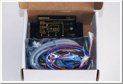 Регулятор давления конденсации в коробке