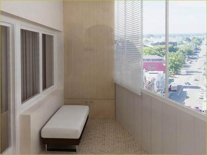 С чего начать отделку балкона