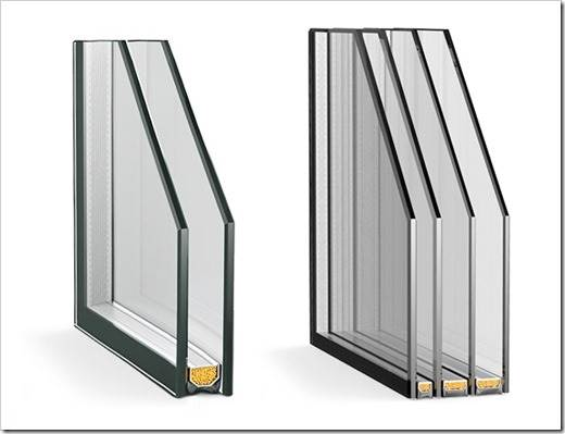 Одно – или двухкамерные стеклопакеты