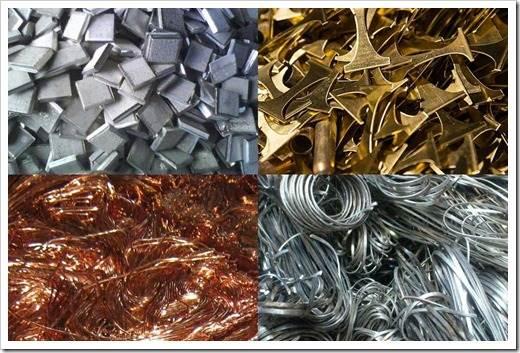 Виды лома цветных металлов
