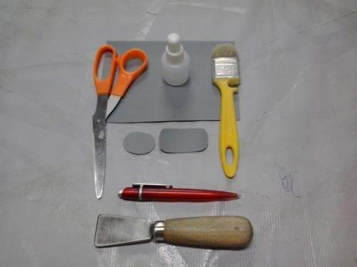 Инструменты для клейки бассейна