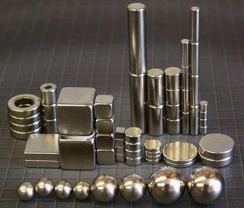 Разные неодимовые магниты