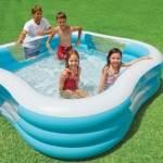 Резиновый бассейн