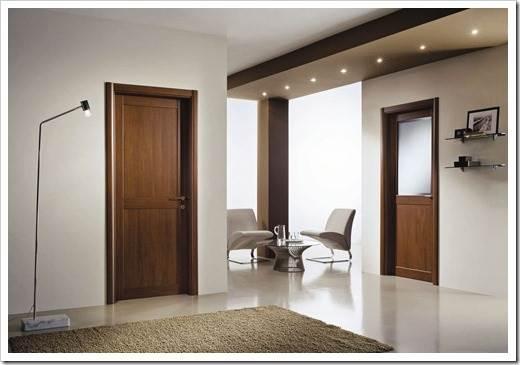 Как ухаживать за ламинированными дверями?