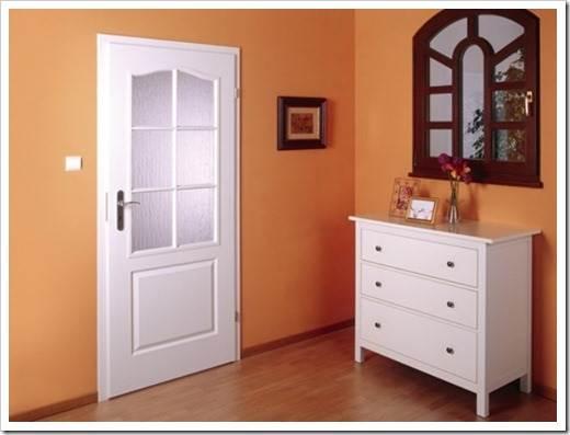 Главные преимущества ламинированных дверей