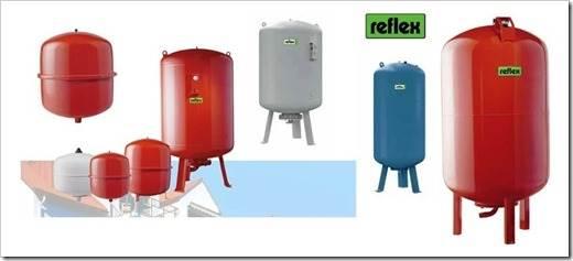 Баки расширительные для регулирования отопления