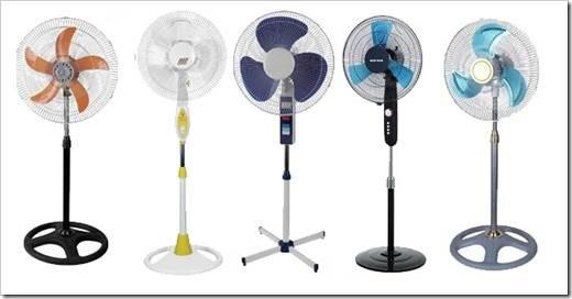 Бытовые вентиляторы для дома