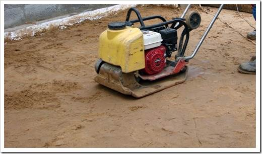 Применение овражного песка