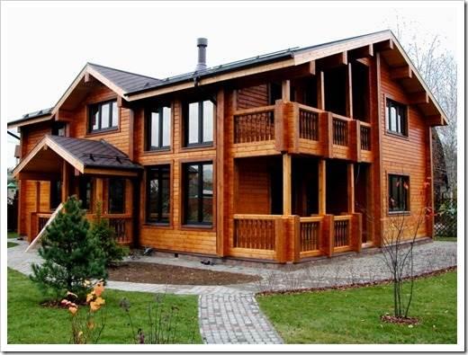 Комфортный дом из профилированного бруса под ключ