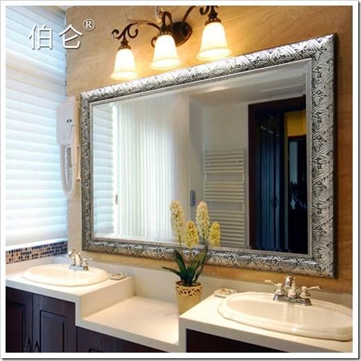 Методика установки зеркала в ванную комнату