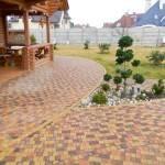 Уложеннная тротуарная плитка