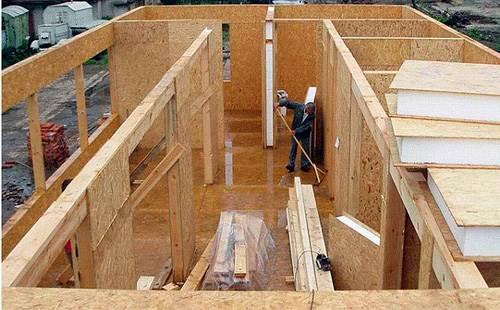 как собрать дом из сип-панелей