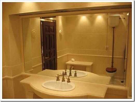 Создание освещения для зеркала в ванной