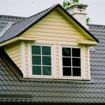 Крыша и с металлочерепицей