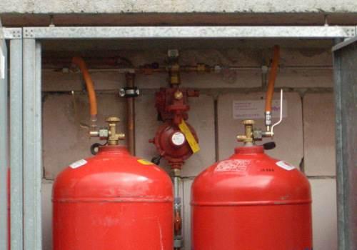 Подключение газового баллона на даче