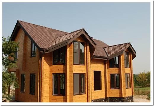 Фундамент для деревянного дома из клеёного бруса