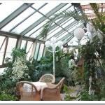 Материалы для крыши, стен и пола в зимнем саду