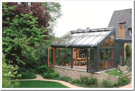 Конструктивные особенности и выбор профиля для зимнего сада