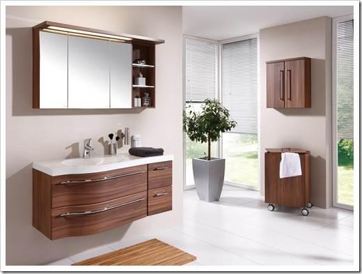 Планировка мебели для ванной