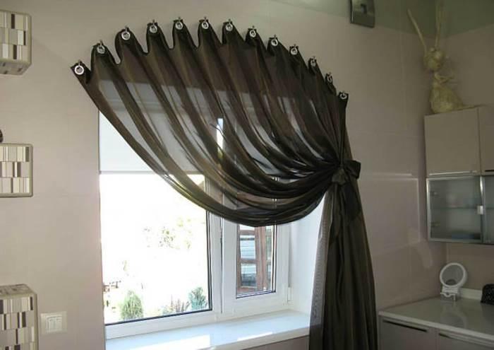 Как сшить шторы в зал