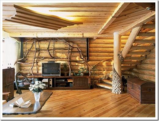 Неповторимые деревянные дома из бруса