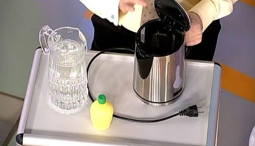 Как очистить накипь в термосе в домашних условиях