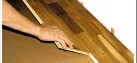 Как убрать неприятный скрип паркетной доски?