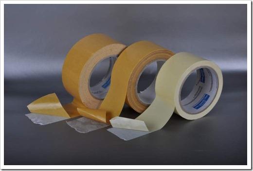Создаём двухсторонний скотч из обыкновенной клейкой ленты