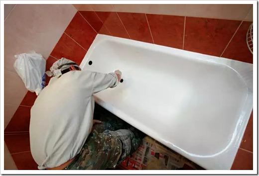 Как осуществляется реставрация ванны из чугуна?