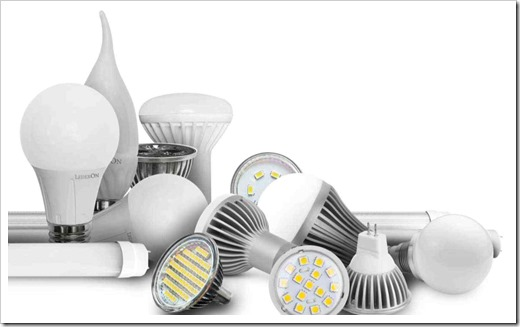 Типы светодиодных ламп
