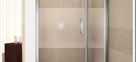 Как установить двери на душевую кабину?