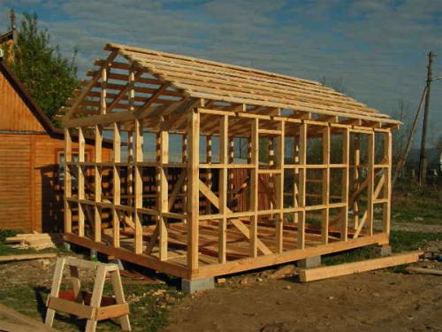 как построить сауну на даче