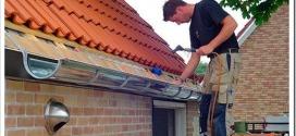 Как установить водосток на крышу?
