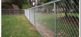 Как правильно натягивать сетку Рабица на заборе?