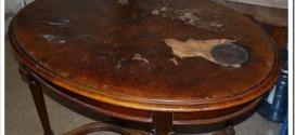 Как отреставрировать деревянный стол?