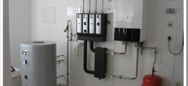 Монтаж газовых настенных котлов