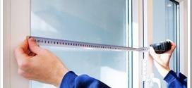 Как правильно замерить пластиковое окно?