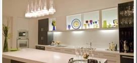Какие люстры подходят для кухни: фото